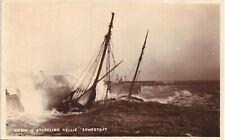 More details for lowestoft. sparkling nellie shipwreck by h.jenkins, lowestoft.
