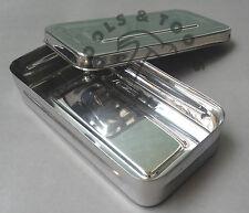 Acero Inoxidable instrumento Caja de almacenamiento de herramientas de joyería de Cirugía Médicos Veterinarios