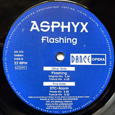 ASPHYX Flashing 12 Inch 1993 Belgium Dance Opera DO 375 XTC-Alarm Trance