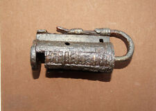Rare Viking Padlock with copper details -  9-10th century