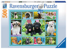 Ravensburger Cute Puppies 500pc Jigsaw Puzzle 14708