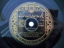Jazz 78 JELLY ROLL MORTON The Pearls / King Porter Stomp -1926 tracks HEAR