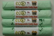 The Caddy Company 7 Litre Compostable Bin Liners with 150 Bags