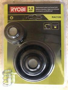 Ryobi RAC120 ,   Replacement Grass Trimmer Spool and Bump Knob 1.5mm Line