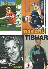 4 Autogramme Lot Tischtennis Timo Boll Jörg Rosskopf Richard Prause C Süss xyz *