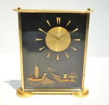 Jaeger LeCoultre Vintage Marina Lucite Japanese Mt. Fuji Design Clock Working