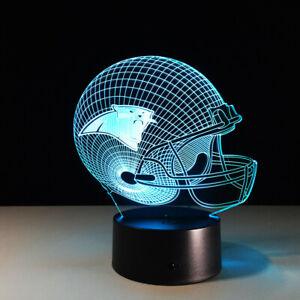 Carolina Panthers LED Light Lamp Collectible Cam Newton Home Decor Gift