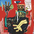 """35W""""x35H"""" UNTITLED 1983 ERNOK by JEAN-MICHEL BASQUIAT Repro - CHOICES of CANVAS"""