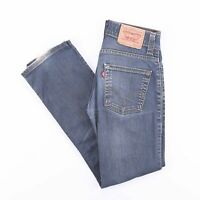 Vintage LEVI'S 511 Slim Straight Fit Men's Blue Jeans W29 L32