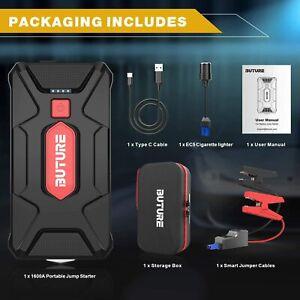 ⚡ BUTURE Portable Voiture Jump Starter 1600A Pic 20000mAh Paquet Auto Chargeur