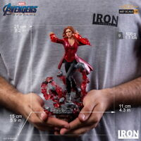 Iron Studios 1/10 Scarlet Witch Statue Avengers: Endgame Figure Collection Toys