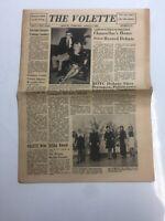 The Volette Martin Tennessee 1969 UT Martin Newspaper Chancellors Home Debate