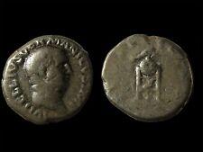 ROMAN SILVER DENARIUS OF EMPEROR VITELLIUS (69)!!