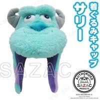 SAZAC Disny Sulley Monsters Inc CAP Fleece Costume Cosplay Unisex Adult