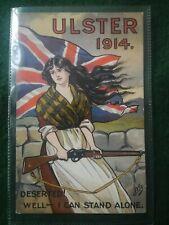 More details for original 1914 ulster volunteer force postcard.