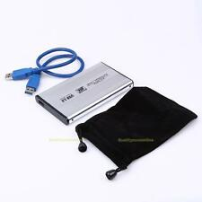 "Portable 2.5"" USB 3.0 SATA HDD Hard Drive Disk HD External Enclosure Case Box"