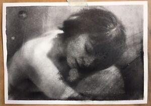 Charcoal artwork on A3 (42cm/29.7cm) paper