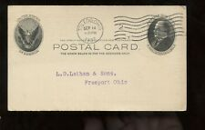 US Farm Related Advertising Postal Card (Wheat, Corn, Oats, etc) 1907 Toledo