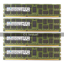 New Samsung 64GB 4X16GB PC3-14900R 2RX4 DDR3-1866MHZ REGISTERED ECC Server Ram