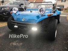 Power LED Fog Light Bar off road Kit for VW Dune Buggy Baja sand rail hotrod ATV