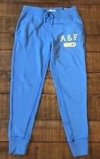 NWT Women's Abercrombie & Fitch A & F NY Jogger Pant Blue,  XS