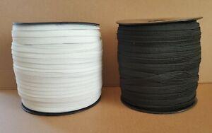 1,20€/m Gummiband 5 mm breit weiß schwarz Hosengummi Gummilitze Top