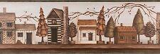 Chesapeake - Mountain Cabins Shelf (TC48071B) Premium Wallpaper Border 15ft Roll