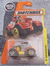Matchbox 2016 #036/125 DIRTSTROYER bronze / jaune MBX Construction LONG CARTE