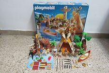 Playmobil - Western Oeste Indios - Campamento Tienda - 3250 - (COMPLETO) OVP