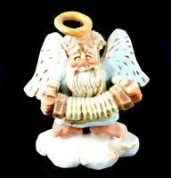 David Frykman The Oldest Angel Figurine Accordian 1995 Coynes