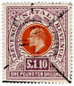 (I.B) Natal Revenue : Duty Stamp £1 10/-