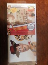 DISNEY TOY STORY, 34 WALL DECALS. NEW IN PACKAGE