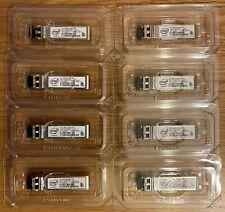 More details for 8 x intel ftlx8574d3bcv-it 1g / 10g multi mode 850nm sfp+ optical transceiver