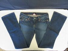 Lucky Brand LOLA BOOTLEG Bootcut Womens Size 6 / 28 Blue Stretch Jeans Inseam 33