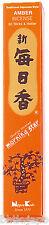 NIPPON KODO Morning Star - Encens Japonais - AMBRE 50 bâtons + porte-encens