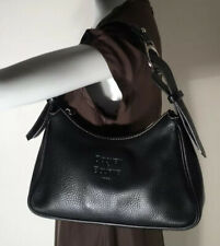 Dooney & Bourke 1975 Black Pebbled Leather Satchel Purse