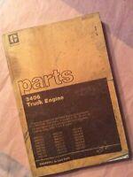 CAT Caterpillar 3406 Truck Engine Parts Manual Book 92U29991-Up Paccar Guide