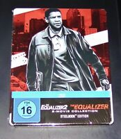 The Égaliseur 1+2 Avec Denzel Washington Limitée steelbook blu ray Neuf & Ovp
