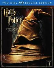 Harry Potter and the Sorcerers Stone (Blu-ray Disc, 2016, 2-Disc Set) NO UV