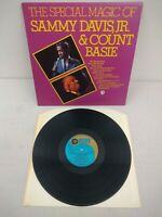 Sammy Davis JR Count Basie - The Special Magic Of - UK Vinyl LP MGM