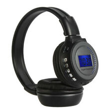 Wireless Stereo Headphone Headset MP3 Card Music Player FM Radio LCD Display FS