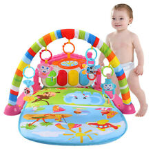 Baby Gym Play Mat Lay and Play 3 in 1 Fitness Music And Light Fun Piano Boy Girl