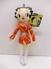 """2002 Retro Betty Boop """"Boop-Oop-a-Doop!� Collectable Plush 12"""" Doll by Kellytoy"""