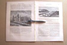 """""""LE TOUR DU MONDE - VOYAGES"""" 762=>764-1875: CANADA, RIVIERE ROUGE, MONTRÉAL"""