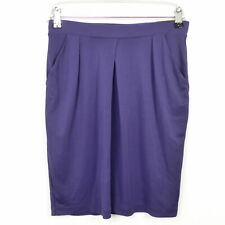 FILIPPA K Rock Skirt Minirock Stretch Lila Gr. XS 34