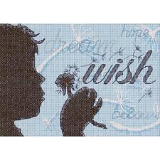 Dimensions 65087 Wish Mini Counted Cross Stitch Kit