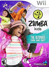 Zumba Kids: The Ultimate Zumba Dance Party [Nintendo Wii, NTSC Video Game] NEW