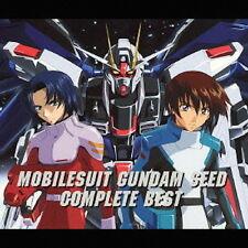 Mobile Suit Gundam Seed Complete Best CD Japan Music Japanese Anime Manga