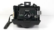 Vintage Polaroid ProPack Instant Film Camera Clean Missing Battery Cover READ