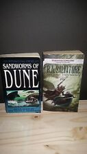 book lot Sandworms of Dune & D&G The Last Threshold